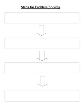 Steps for Problem Solving
