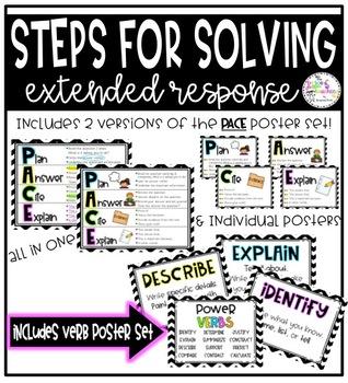 Steps for Solving Extended Responses