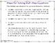 Steps for Solving Multi-Step Equations