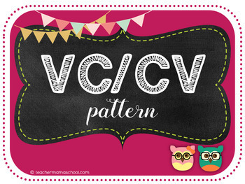 Steps for Syllabication (Orton-Gillingham) - VCCV pattern PowerPoint (PREVIEW)