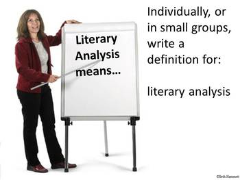 Steps for Understanding and Writing Literary Analysis