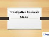 Steps in Investigative Research
