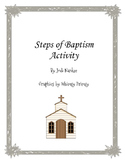 Steps of Baptism Activity