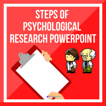 Steps of Psychological Research PPT