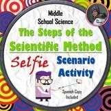 Steps of the Scientific Method Activity with Selfie Scenarios