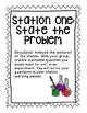 Steps of the Scientific Method Stations