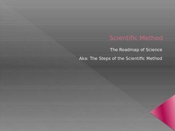 Scientific Method Presentation (Notes)