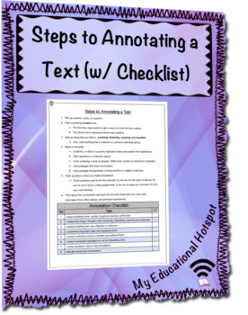 How to Annotate a Text (Step by Step)