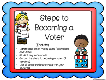 Steps to Becoming a Voter (Sequence Map)