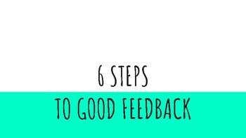 Steps to Get Good Feedback