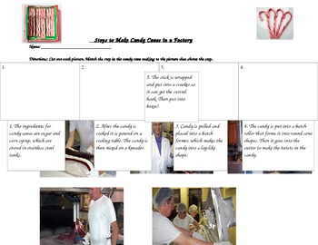 Steps to Making Candy Canes in a Factory