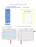 Steps to Printing Timed Math Worksheets