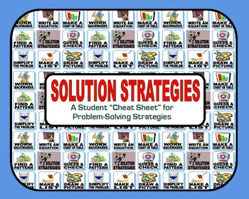 Steps to Problem Solving (Student Cheat Sheet)