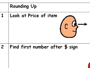 Steps to Round Up and Make a Purchase