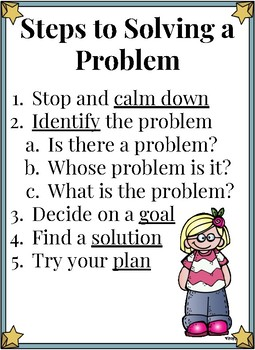 Steps to Solving a Problem