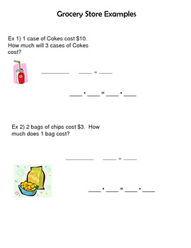 Steps to Solving a Proportion Notes