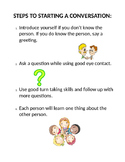 Steps to Starting a Conversation