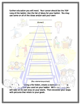 Steps to Success - A Career Ladder Webquest