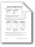 Steps to Teaching Poetry Writing and Trait-Based Writing