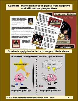 Steps to Transform Lessons into Brain Based Debates