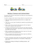 How to Write a Compare and Contrast Essay with List of Prompts