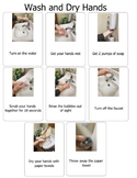 Steps to Wash and Dry Hands