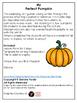 The Perfect Pumpkin - Narrative Writing
