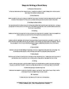 CO-CURRICULUM - Steps to Writing a Short Story
