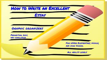 Steps to an Excellent Essay