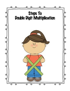 Steps to double digit multiplication.