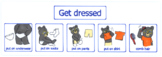 Steps to getting dressed