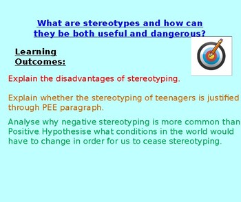 Stereotypes - CItizenship