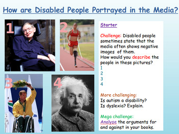 Stereotypes: Disability