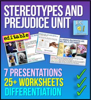 Stereotypes and Prejudice Bundle