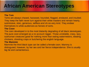Stereotypes and Their Effect on People Powerpoint