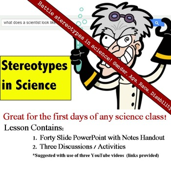 Stereotypes in Science: Beginning of Year Science Lesson