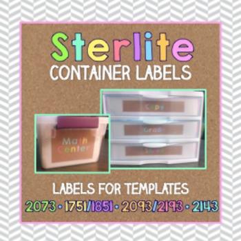 Sterilite Container Templates { Tribal Herringbone }