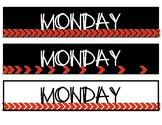 Sterilite Drawer Day Labels