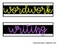 Sterilite Drawer Labels BLACK and BRIGHT