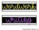 Sterilite Drawer Labels BLACK and BRIGHT