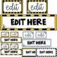 Sterilite Drawer Labels ~ Bumblebee Theme ~ Editable