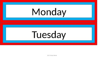 Sterilite Drawer Labels - Dr. Seuss Tribute Colors - Updated