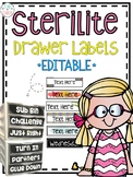 Sterilite Drawer Labels EDITABLE **GROWING DESIGN**