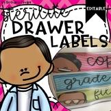 Sterilite Drawer Labels | Editable