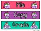 Sterilite Drawer Labels English & Spanish Freebie
