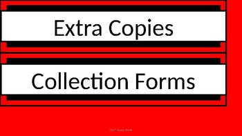 Sterilite Drawer Labels - Red & Black