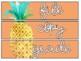 Sterilite Drawer Labels - Tropical