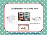 Sterlite Boxes Editable Labels