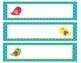 Sterlite Storage Drawers Boho Birds Theme EDITABLE