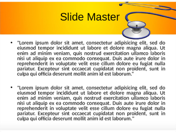 Stethoscope PowerPoint Template